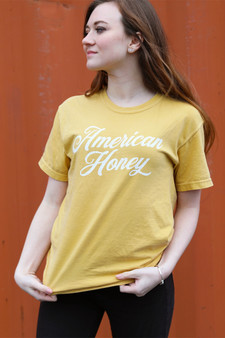 American Honey - Mustard Yellow t-shirt