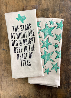 The Stars at Night Are Big and Bright... Kitchen Towel