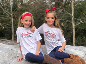 Dolly for President - YOUTH - Heather White
