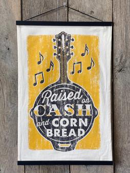 Raised on Cash and Cornbread - Kitchen Towel