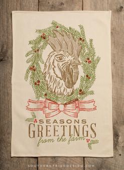 Season's Greetings - Rooster