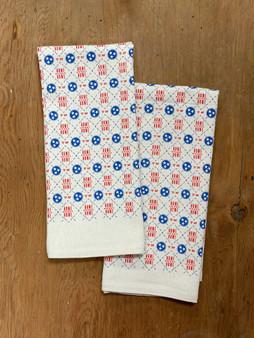 Tennessee Tri-Star Pattern - Kitchen Towel