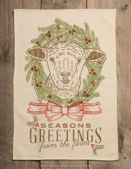 Season's Greetings - Lamb