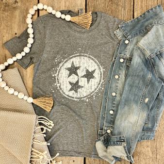 Tristar Heather Gray Short Sleeve Shirt