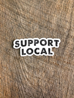 Support Local - Sticker