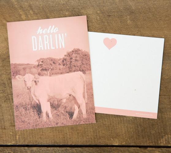 Hello Darlin' Card