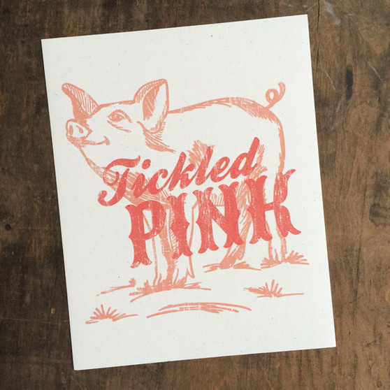 Tickled Pink Print