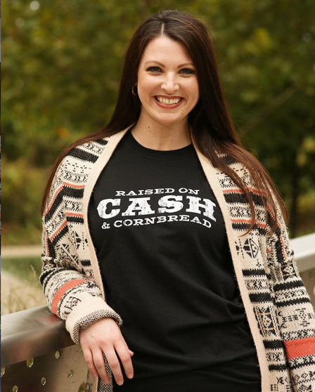 Raised On Cash And Cornbread - Shirt