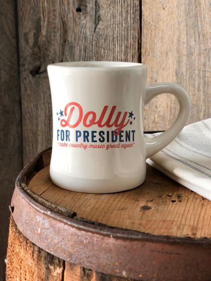Dolly for President - Diner Mug