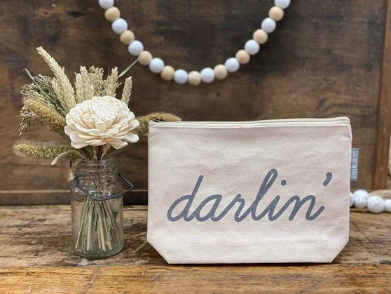 Darlin' - Zipper Pouch