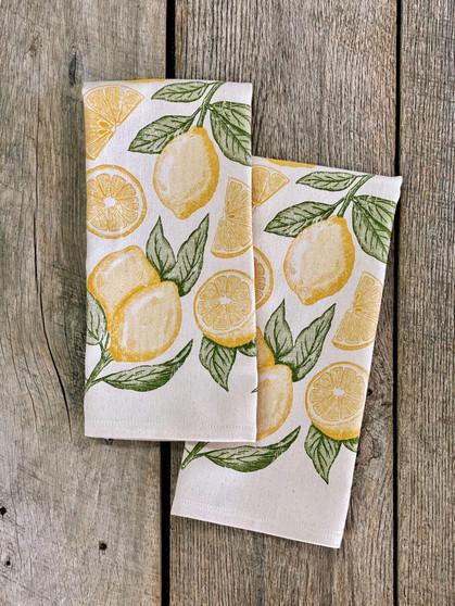 Lemon Pattern - Kitchen Towel