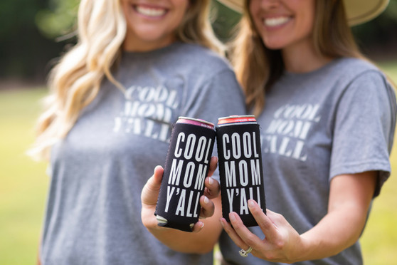 Cool Mom Y'all (Slim Can) - Coozie