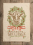 Cow - Seasons Greeting From The Farm Kitchen Towel