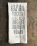 The Most Beautiful Voice In The World Kitchen Towel