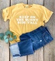 Keep on the Sunny Side Y'all - Shirt