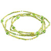 Zulugrass Bracelet by Leakey - Lime Green