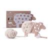 Knitting Game for Kids - Woody the Sheep - Ecru