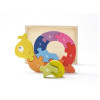 Wooden Snail Puzzle - Learn to Count