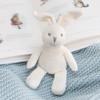 Organic Hand Knit Bunny Rattle