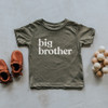 Big Brother T-Shirt - Olive, 2T