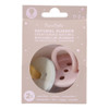 Natural Rubber Pacifier 2 Pack - Rose/Sage, 0-3M