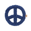 Eco Friendly Dog Rope Toy - Peace Sign
