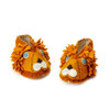Lion Baby Booties - 6-12 Months