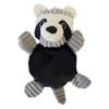 Corduroy Squeaker Dog Toy - Raccoon 5