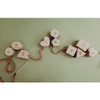 Handcrafted Wooden Lacing Toy - Shapes and Numbers