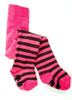 Organic Tights - Pink and Chocolate - 2-4Y