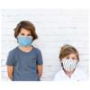 Linen Face Mask - Kids, Pink