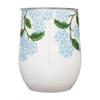Portable Wine Glass - Insulated - Hydrangea