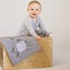 Organic Baby Toy Elephant Rattle