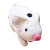 Hand Knit Organic Pig Rattle