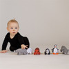 Organic Rhino Baby Toy Rattle