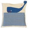 Organic Whale Baby Blanket - Ocean Theme