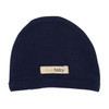 Organic Newborn Hat - Navy