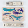 Chunky Toddler Puzzle - Whale Family