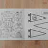 Hand Drawn Coloring Book for Travelers