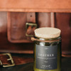 Natural Soy and Beeswax Candle - Leather