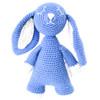 Organic Baby Bunny Toy Fair Trade - Blue