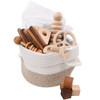 Wooden Baby Toys Gift Basket - Chew on This