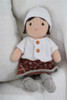 Organic Stuffed Doll - Sofia
