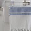 Double Faced Turkish Towel - Blue Stripe