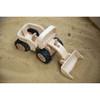Large Wooden Bulldozer Toy
