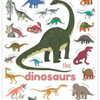 Sticker Activity Set - Mini Dinosaur Poster