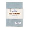 Dog Bandana - Fog Linen, Large (18-22