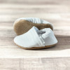 White Moccasins for Baby - 0-3 Months