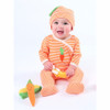 Organic Baby Clothes - Carrot Footie, 0-3m