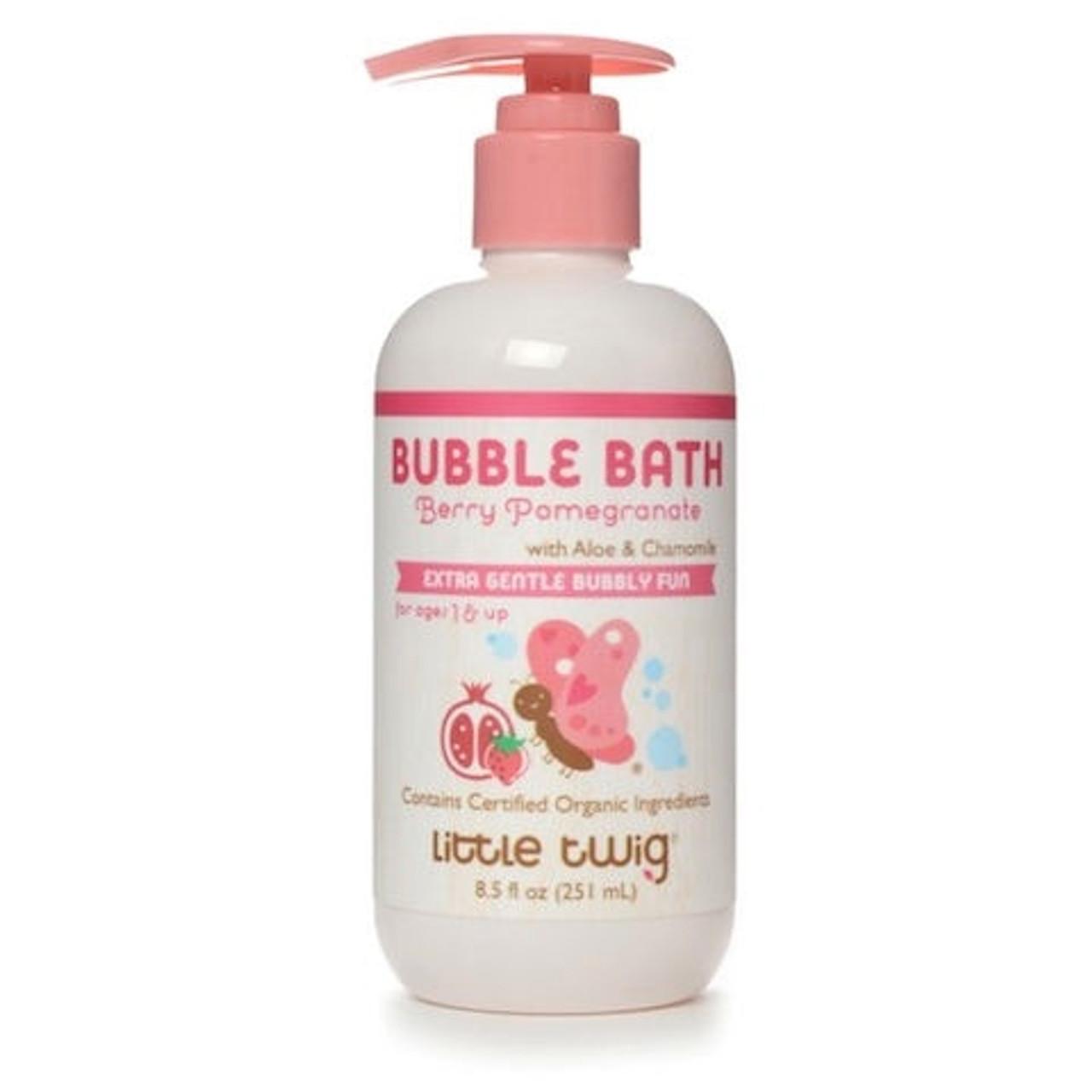 Little Twig Organic Bubble Bath - Berry Pomegranate, 8.5oz